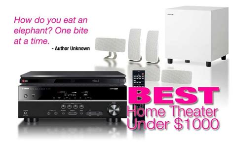 best home theater system 1000 audiogurus