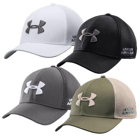 Golf Armour Mesh Stretch Fit Cap Ori armour s ua golf mesh stretch fit cap