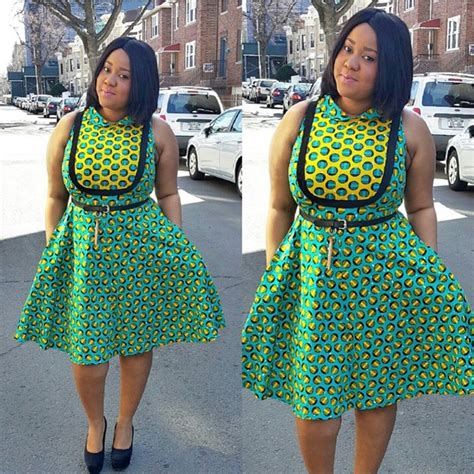 latest short gown ankara styles top 10 lovely asoebi ankara styles short gown 2015 dabonke