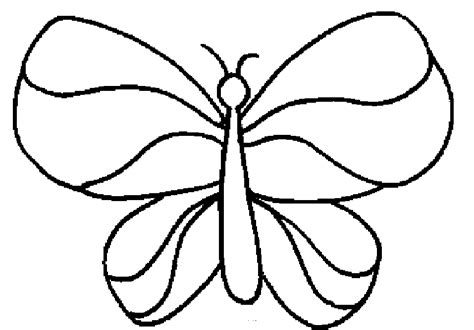 simple coloring pages of butterflies simple butterfly coloring pages coloring home