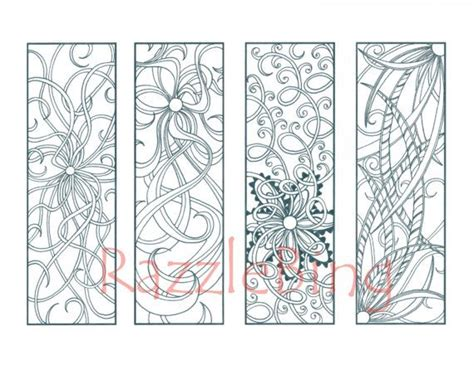 printable zentangle bookmarks 171 curated scrap ideas by paiged31 heart doodle paper
