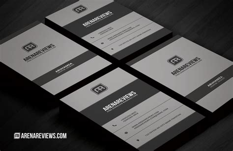 vertical business card template photoshop free vertical corporate business card template