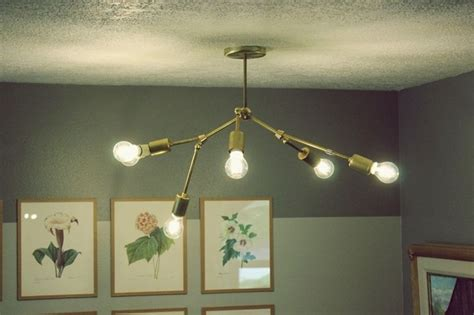 Diy Chandelier Kit Diy Brass Chandelier