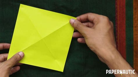 Origami Corner - how to make an easy origami corner bookmark