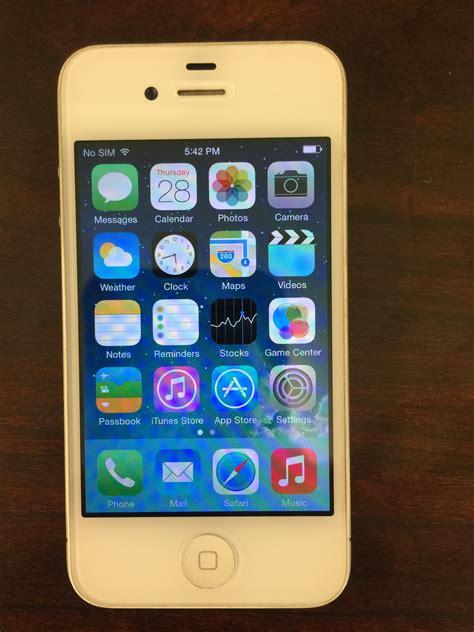 I Phone 4 8gb Ori used iphone 4 at t 8gb