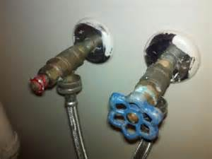Washing machine water supply shut off valve