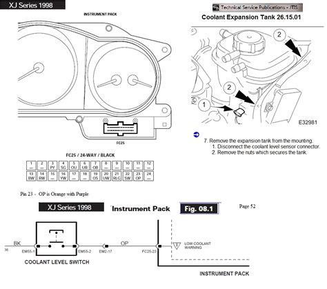 instrument pack pin schematic x308 jaguar forums