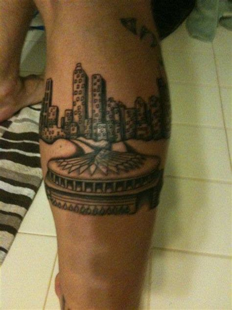 atlanta skyline tattoo atlanta skyline pictures to pin on