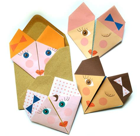 Origami Note - origami notes handmade