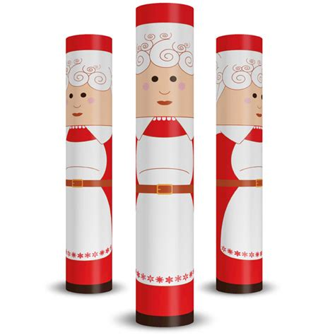 christmas column wraps mrs claus column wrap allenhomedesign
