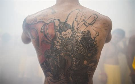 tattoo healing bath festivals of japan sanja matsuri