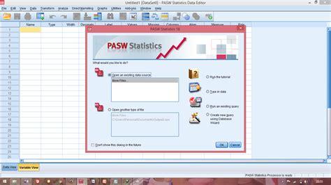 Aplikasi Statistik 1 mencari modus median dengan aplikasi spss statistik sulton aulia