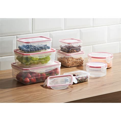 pink food storage containers clip lock food storage containers 8pk food storage
