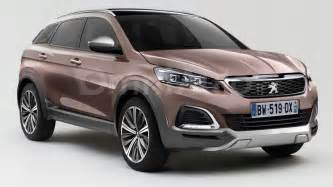 Second Peugeot 3008 2016 Peugeot 3008 Render Shows Transition To Crossover