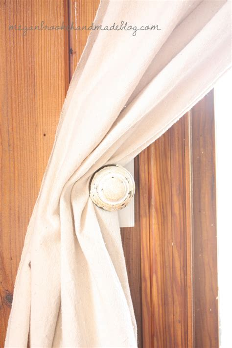 diy curtain tie backs megan handmade