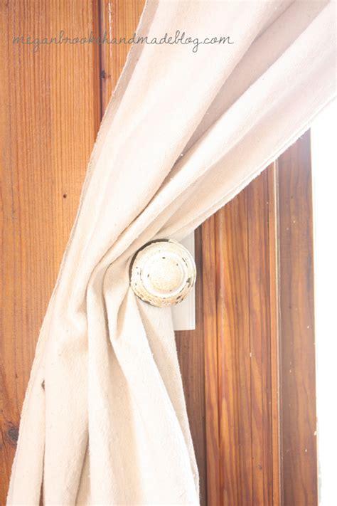 Handmade Curtain Tie Backs - diy curtain tie backs megan handmade