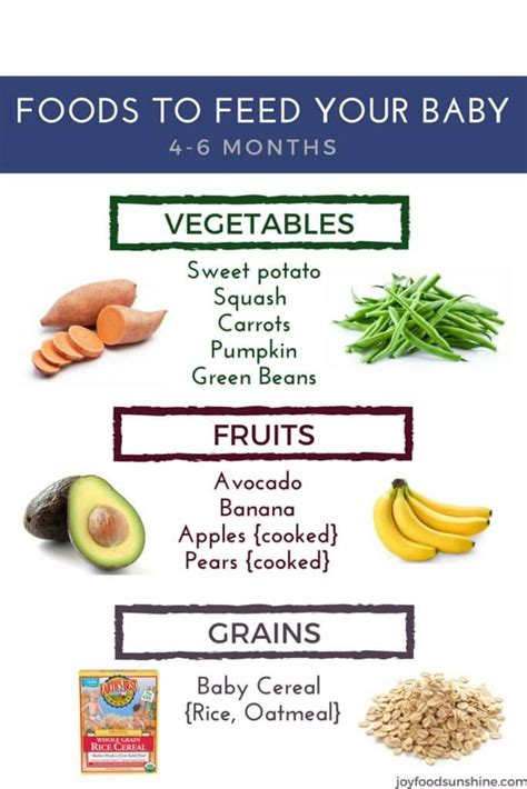vegetables 4 months baby how to introduce solid foods to your baby 4 6 months