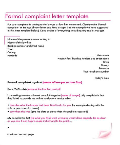 Complaint Letter About Laundry Service File Complaint Letter Images