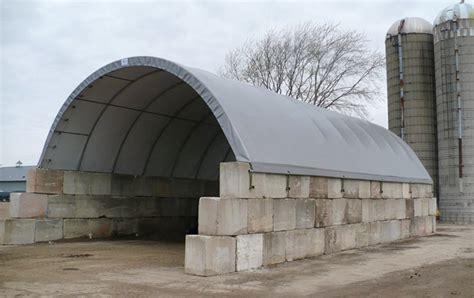 hoop barns  flat grain  dry fertilizer storage