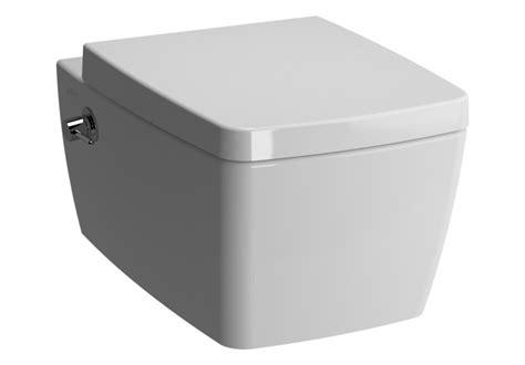 vitra metropole wall mounted washdown toilet  bidet