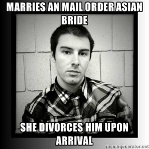 Mail Order Bride Meme - gender inequality objectification of asian women a