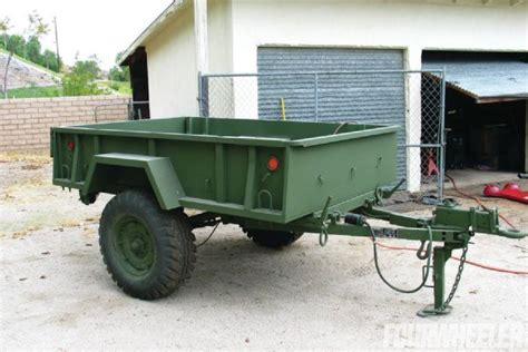 The Bed Trailer by 1985 Gm M1008 Gi Gyp Part 1 Four Wheeler Magazine