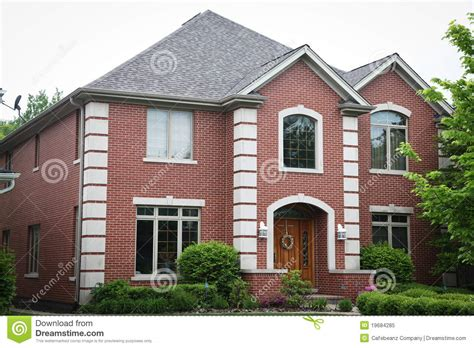 big brick houses big brick house royalty free stock photo image 19684285
