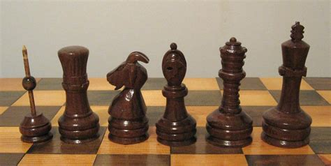 Handmade Chess Pieces - carved staunton chess pieces etsy handmade by