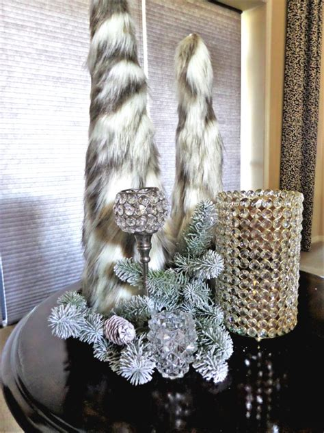 diy faux fur christmas trees be my guest with denise