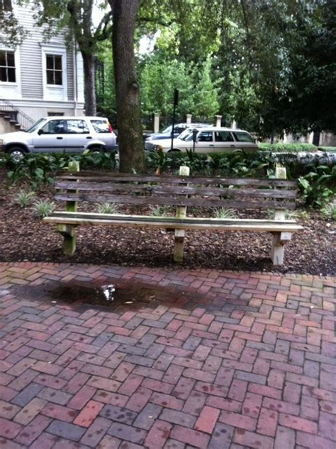 savannah georgia forrest gump bench savannah ga forrest gump s bench travel is my life