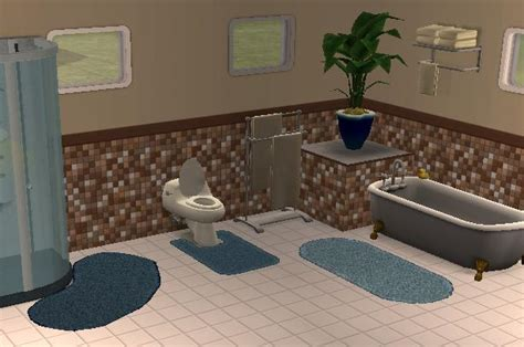 Sims 2 Bathroom by Mod The Sims The Thirstiest Bath Mats Real Puddle Suckers