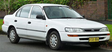 Toyota 101 Service File 1996 1999 Toyota Corolla Ae101r Csi Sedan 2011 06