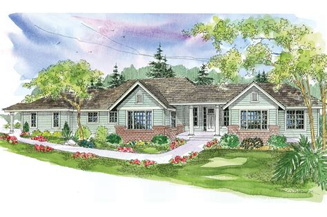 Home Plan by Ranch House Plans Parkdale 30 684 Associated Designs
