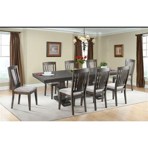 morrisons table and chairs elements international morrison table and wood side chair