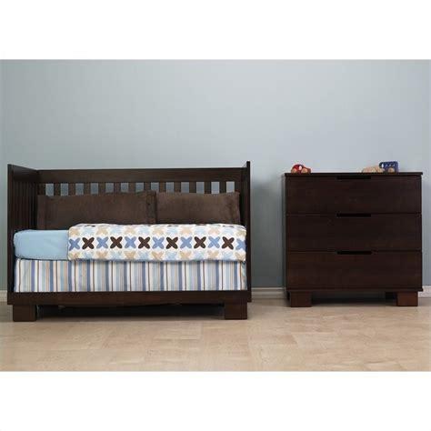 Convertible Crib Sets Babyletto Modo 3 In 1 Convertible Wood Crib Set In Espresso M6701q M6723q Pkg