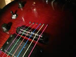 colored guitar strings rocking on with rocksmith daryl