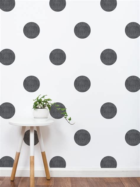 wall stickers dots textured dots wall sticker 6 inch peel and stick wall