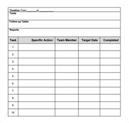 Template For Plan by 8 Plan Templates Excel Pdf Formats
