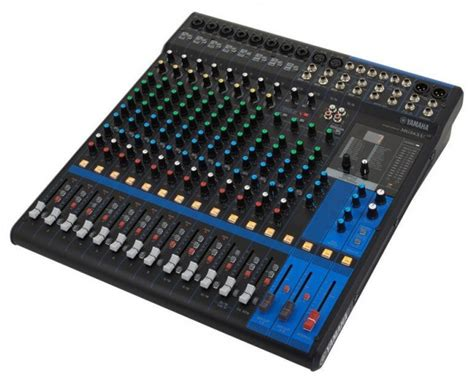 Mixer Yamaha Mg166cx Usb 10 Input Mic 2 Stereo Yamaha Mg16xu 16 Input Mixer With Built In Fx And 2 In 2 Out Usb Int