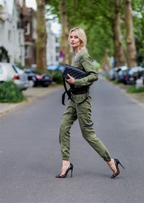Olive Overall Set by How To Wear Olive Green Overall W Set