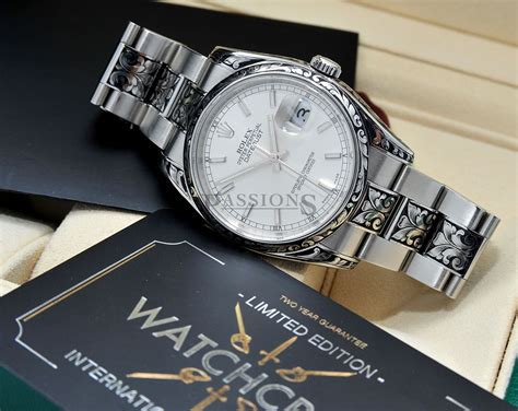 rolex 36mm oyster perpetual datejust chronometer by