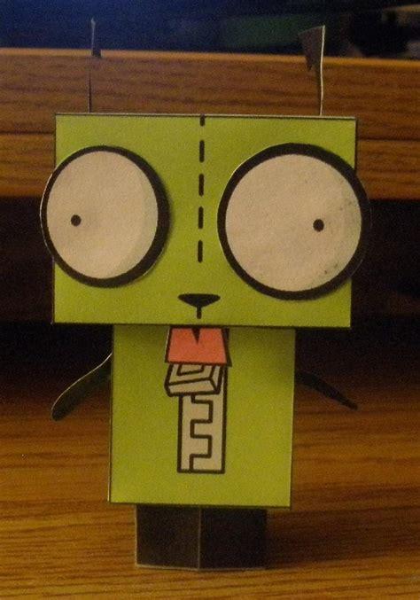 Gir Papercraft - gir cube papercraft by inuizayoi on deviantart