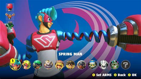 choose   character  arms polygon