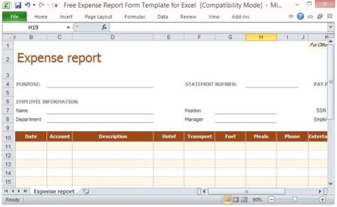expense report template excel apcc