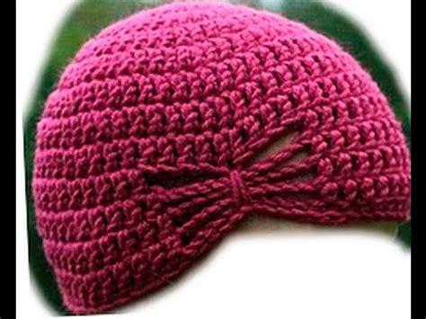 como tejer gorros de crochet como tejer un gorro femenino en ganchillo youtube