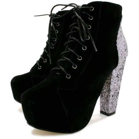 buy washington black heel concealed platform ankle boots