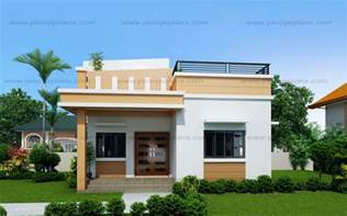 Multi Level Floor Plans Maryanne One Storey With Roof Deck Shd 2015025 Pinoy