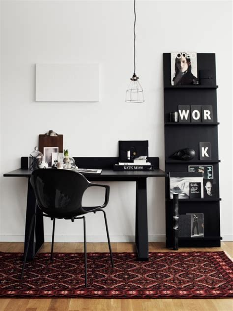 office space inspiration le fashion light dark desk inspiration