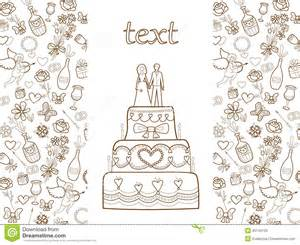 wedding card pattern royalty free stock images image 35144129