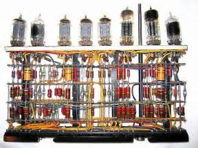 The vacuum tube vintage computer chip collectibles memorabilia